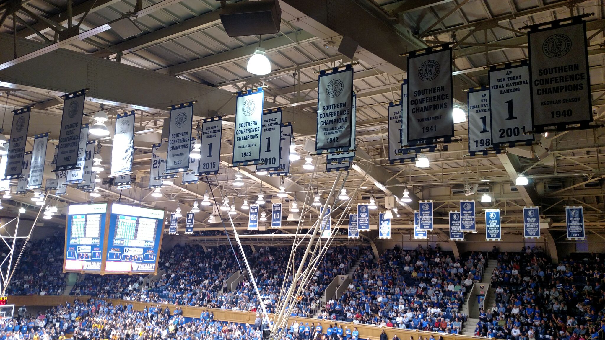 Cameron Indoor Stadium Duke Blue Devils Stadium Journey