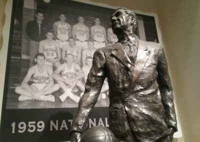 Haas Pavilion, Honoring Coach Newell and the 1959 National Champions