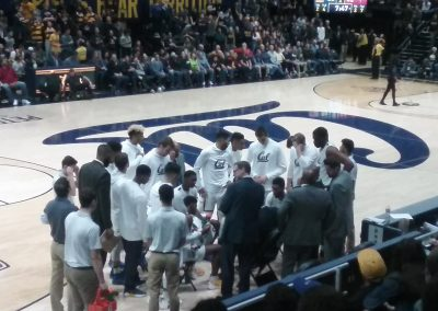 Haas Pavilion, Timeout on the Floor