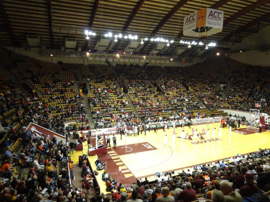 Cassell Coliseum Angled View