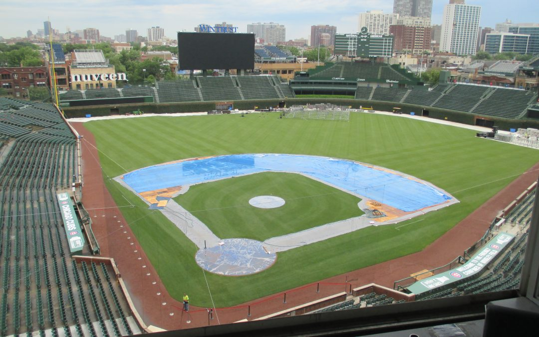 Take the Tour of Wrigley Field