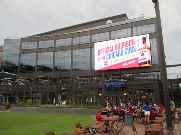 New Addition Outside Wrigley Field
