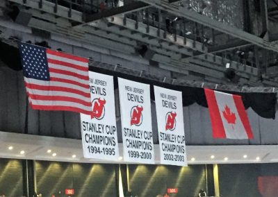 Prudential Center Stanley Cup Banners
