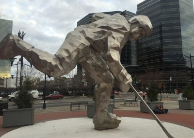 Prudential Center Hockey Statue
