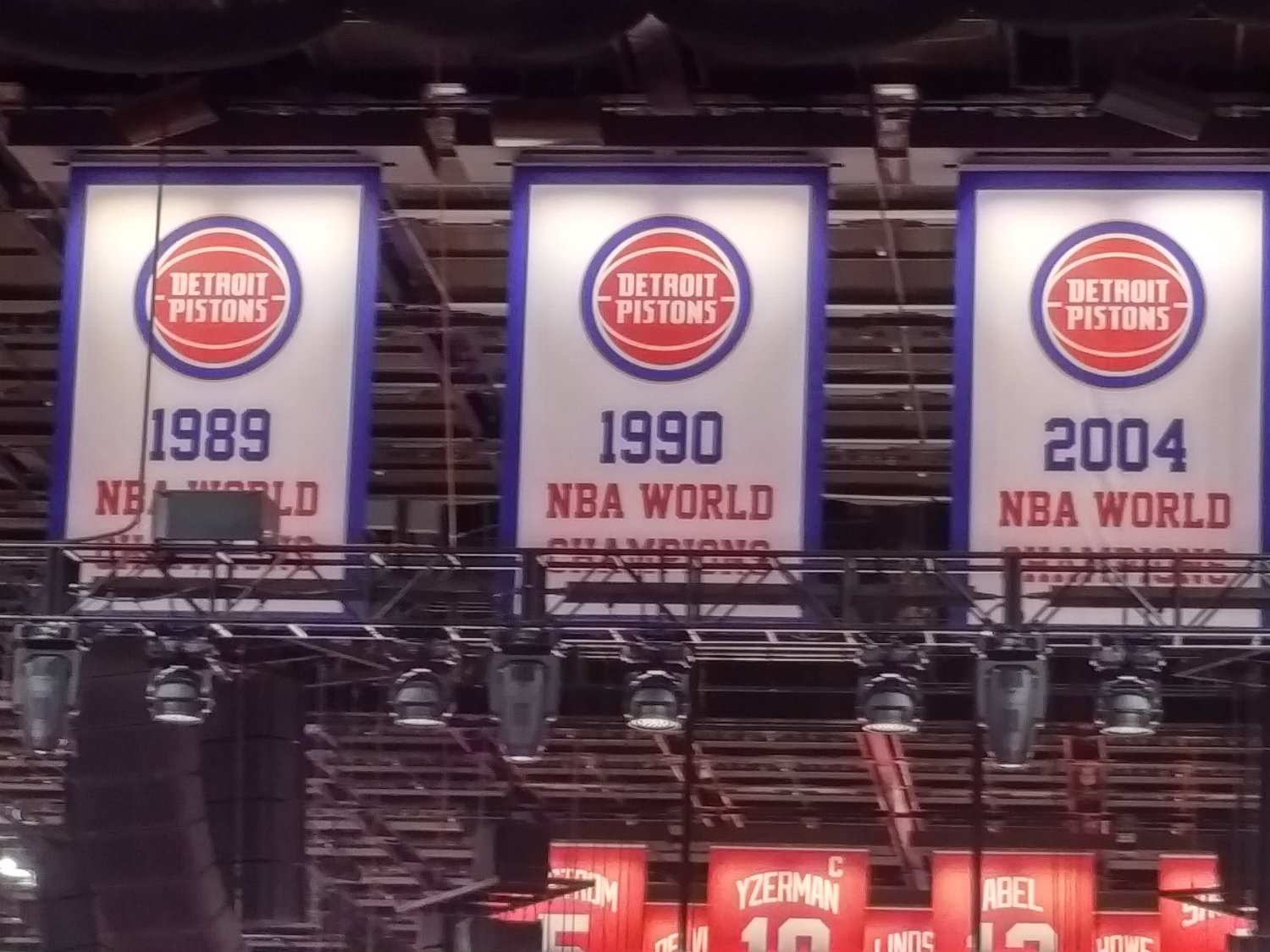 superior quality 5a448 f77a1 detroit pistons retired jersey numbers
