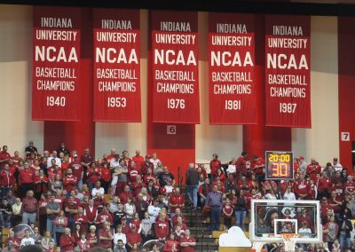 Simon Skjodt Assembly Hall Final Four Banners