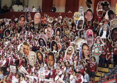 Simon Skjodt Assembly Hall Student Section