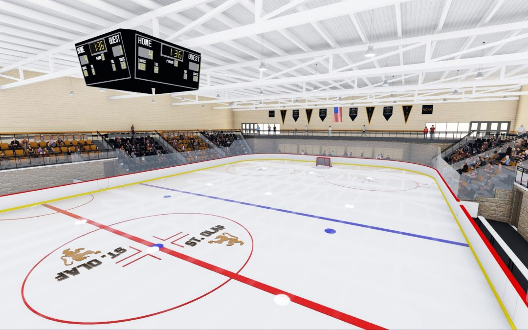 St Olaf College Building New Ice Arena