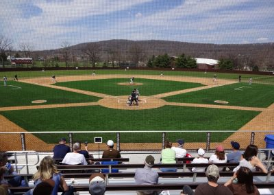 J. David Walker Field at Legacy Park, View from Behind Home Plate