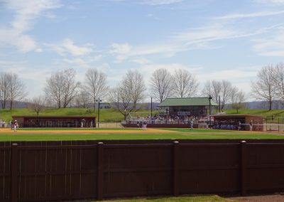 J. David Walker Field at Legacy Park, View from Behind Left Field