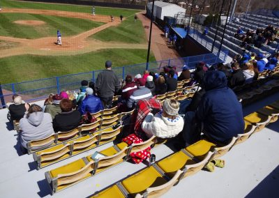 """John """"Sonny"""" Allen Field, View from Behind the Plate"""