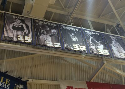 Tom Gola Arena Retired Numbers