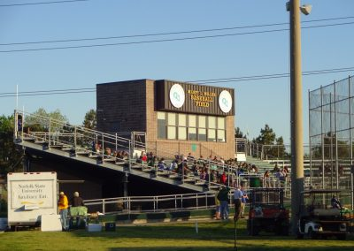 Marty L. Miller Field Press Box and Grandstand