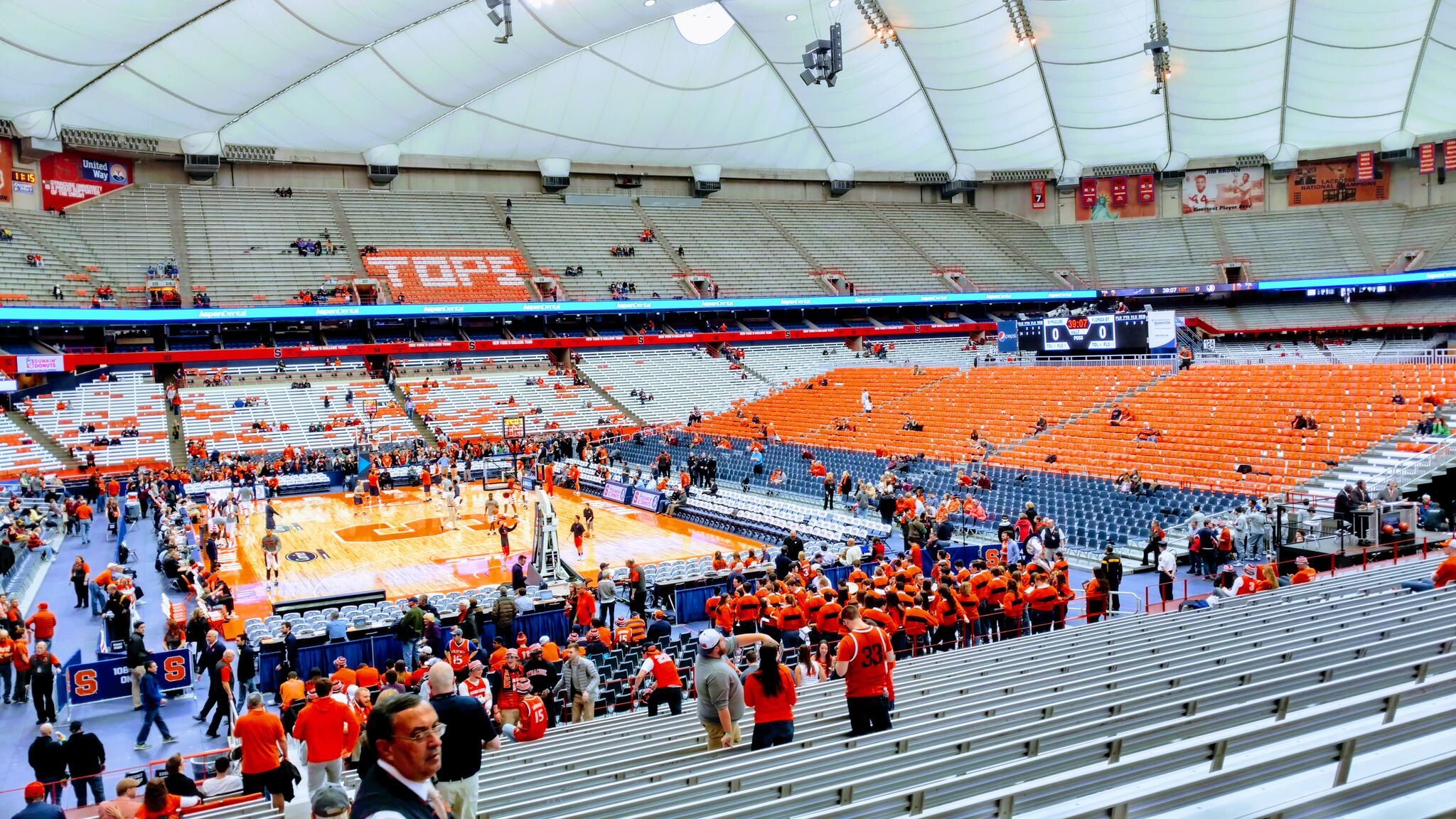 Carrier Dome Seats