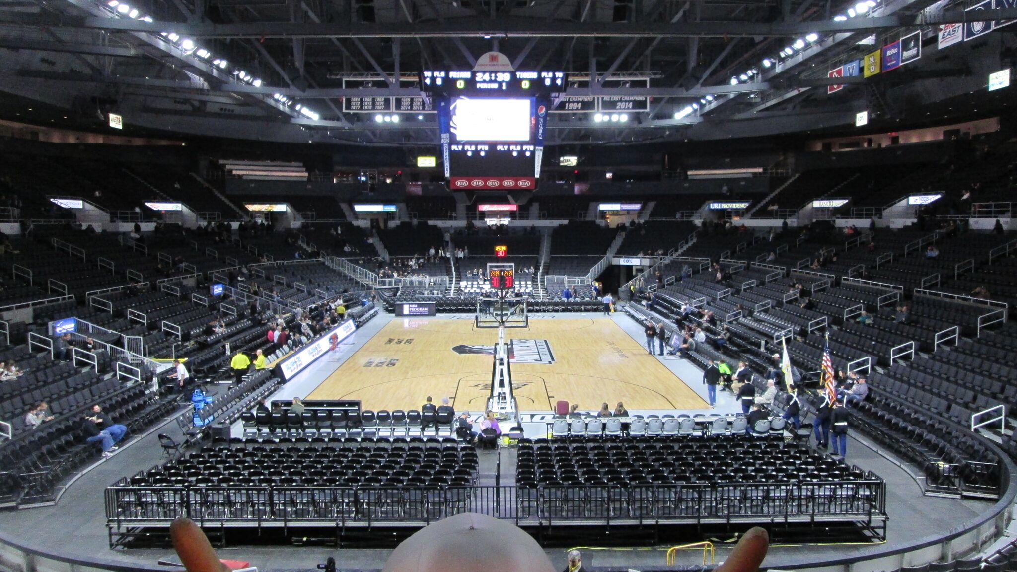 Dunkin Donuts Center End View