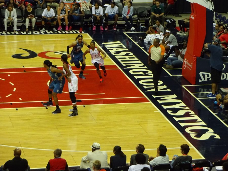 Capital One Arena, Washington Mystics in Action