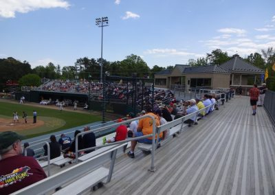 Plumeri Park, Walkway at the Top of the Grandstand