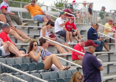 Plumeri Park, William & Mary Tribe Fans Enjoying the Day