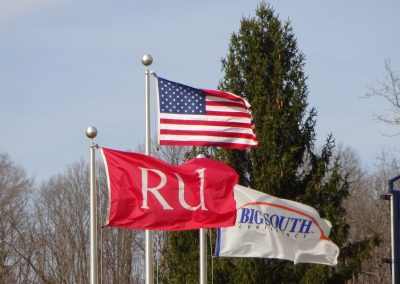 Radford Baseball Stadium, Flags above the Field