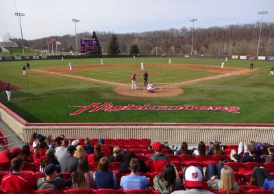 Radford Baseball Stadium Interior
