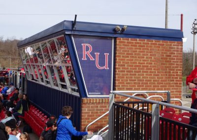 Radford Baseball Stadium Press Box