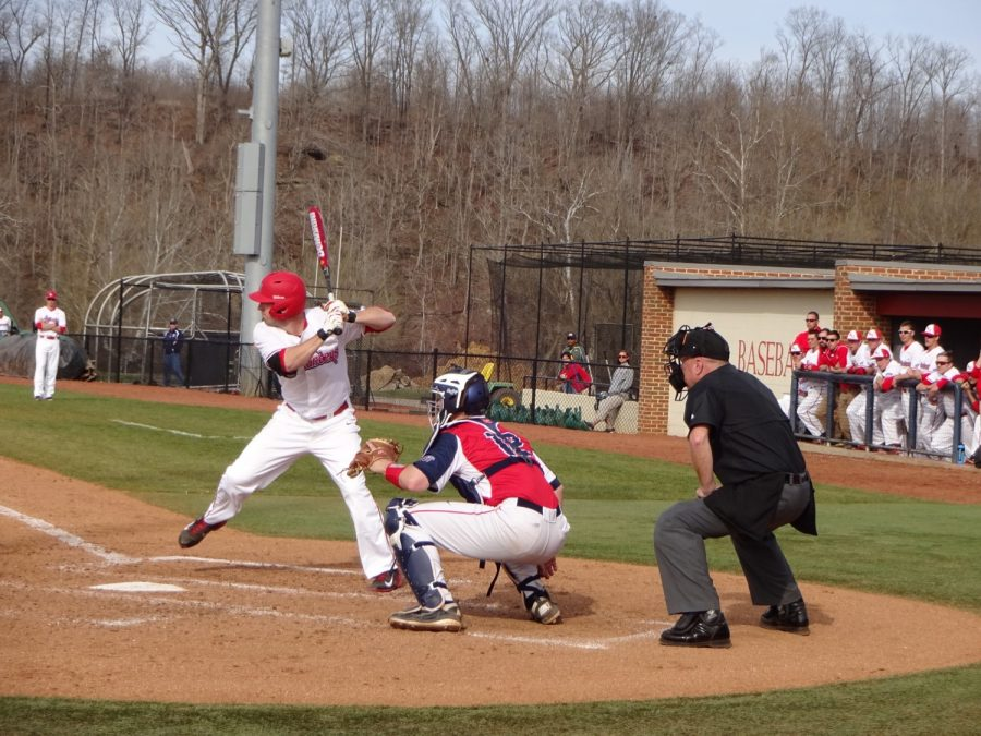 Radford Baseball Stadium, Radford Highlanders at Bat