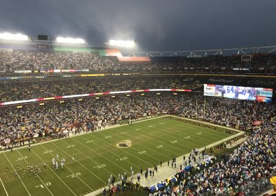 Rainy Night At FedExField