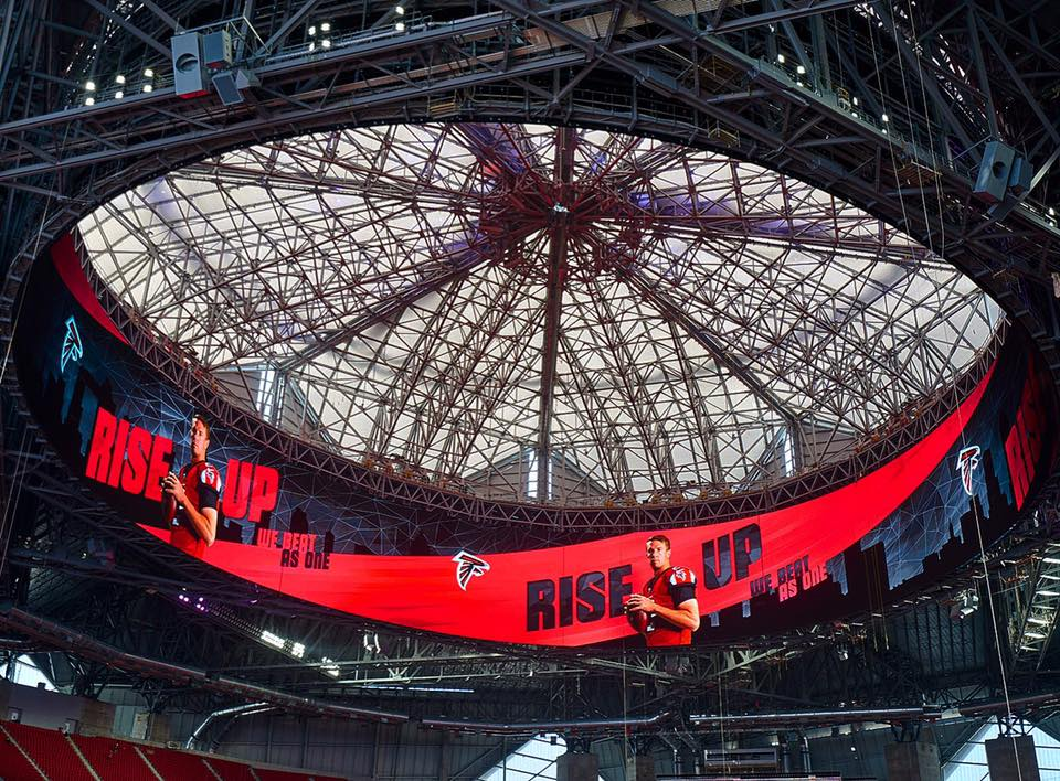 Atlanta Falcons Roof Repairs Expected By Start Of 2018