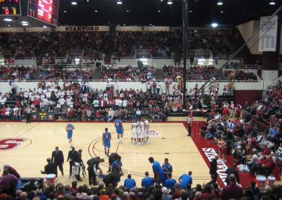 Roscoe Maples Pavilion, Stanford Cardinal Fans Looking On