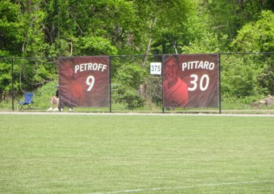 Sonny Pittaro Field, Honoring Former Rider Broncos Players