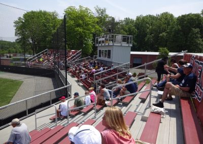 Sonny Pittaro Field, Main Stands