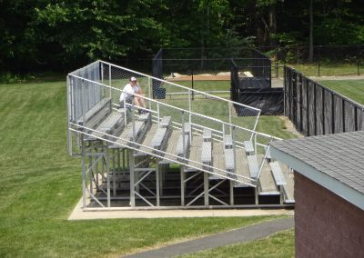 Sonny Pittaro Field, Satellite Grandstands along the Baselines