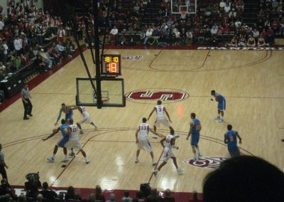 Stanford Cardinal in Action at Roscoe Maples Pavilion