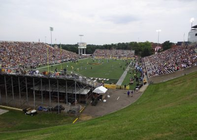 Tom Benson Hall of Fame Stadium, Interior