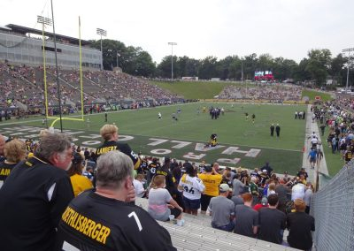 Tom Benson Hall of Fame Stadium, NFL Fans Looking On