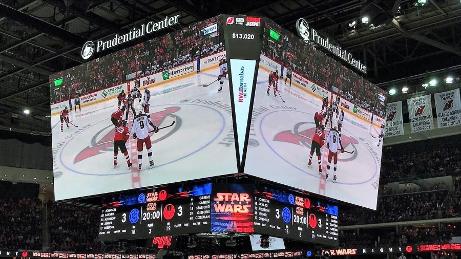 Prudential Center Video Scoreboard