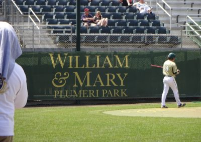 Welcome to Plumeri Park, Home of the William & Mary Tribe