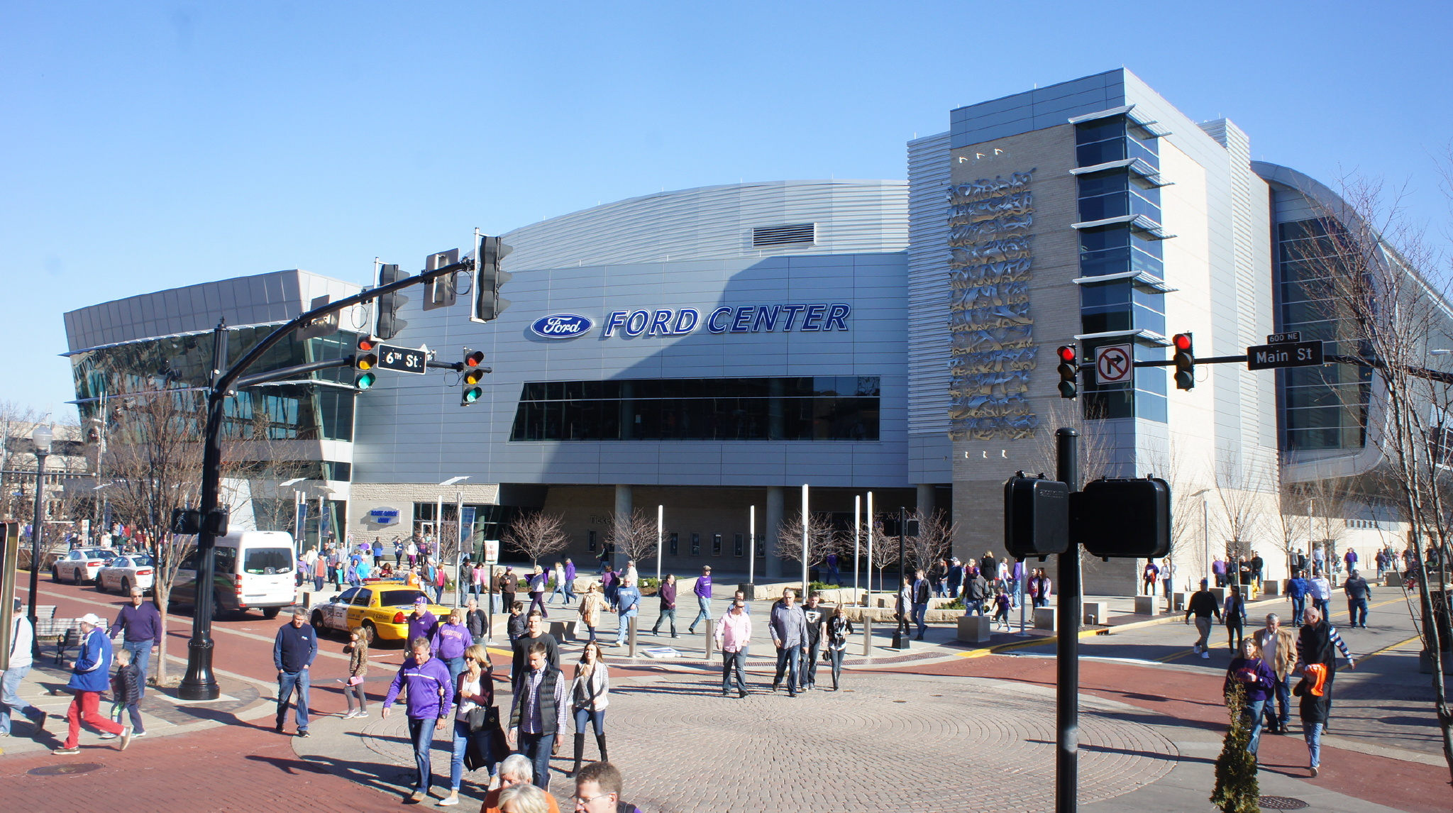 ford center evansville purple aces stadium journey