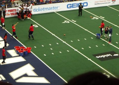 Capital One Arena, Fan Contest during a Washington Valor Game
