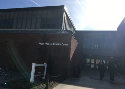 Entrance To Maggs Physical Activities Center