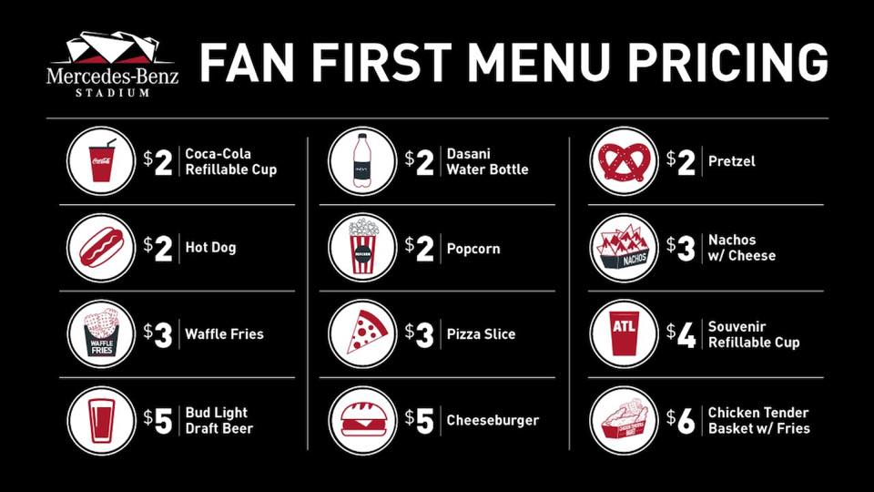 Fan First Concessions: A Menu for Success