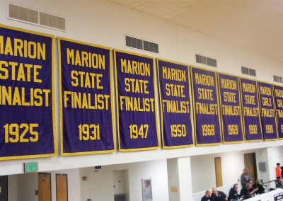 Bill Green Arena Finalists Banners