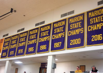 Bill Green Arena State Banners