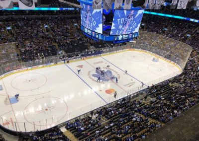 Upper Deck View at Scotiabank Arena