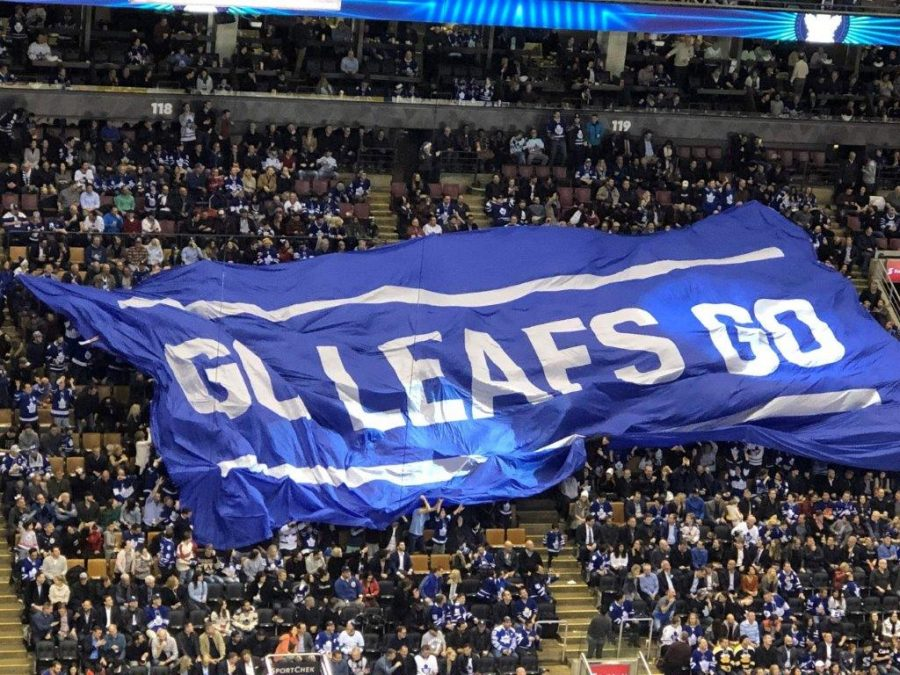 Scotiabank Arena Fan Banner