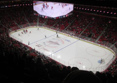 Game Action at Little Caesars Arena