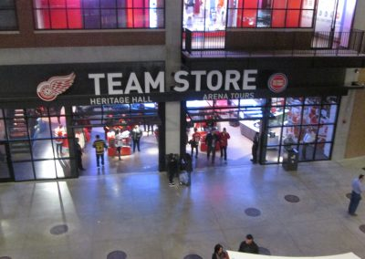 Team Store at Little Caesars Arena