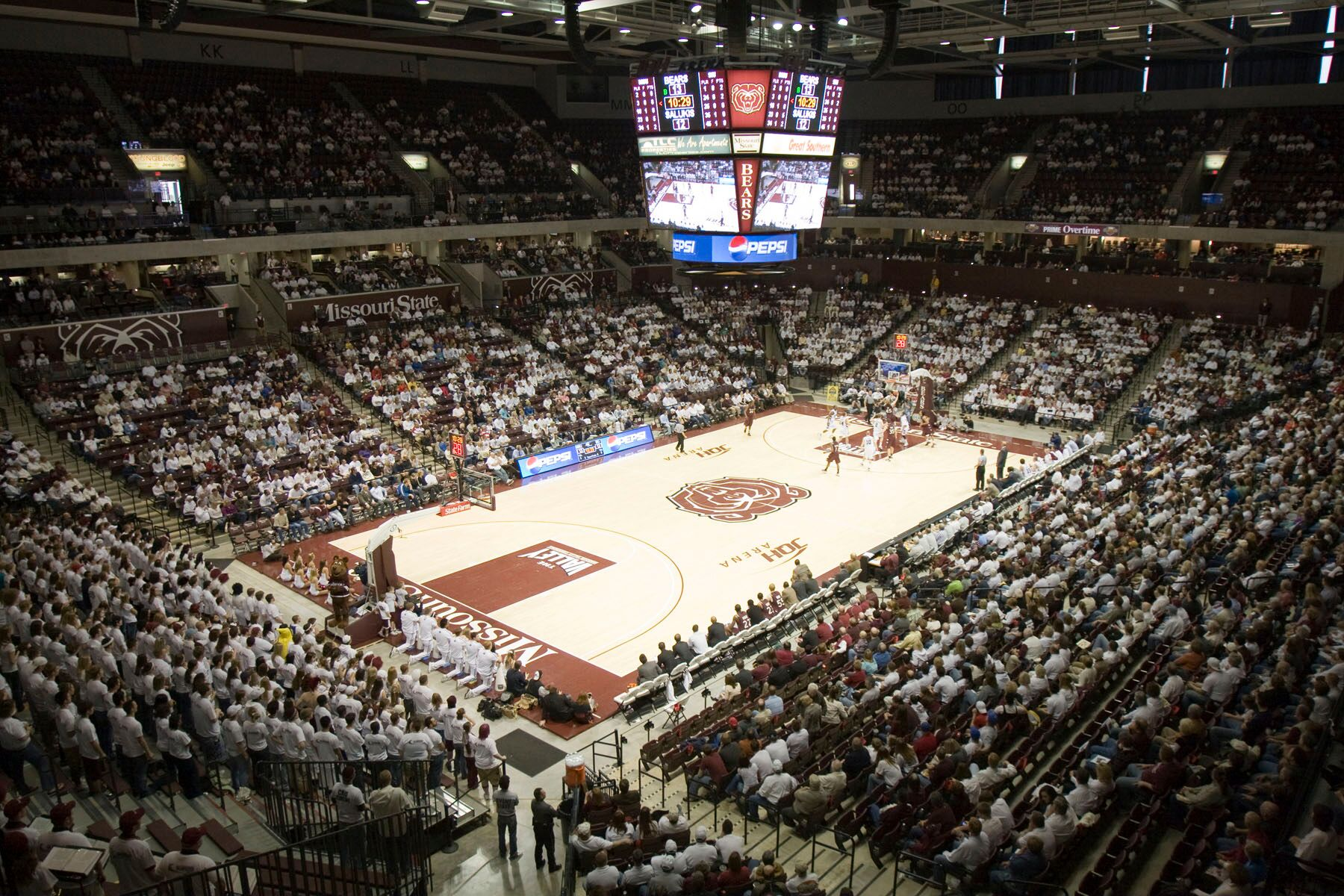 JQH Arena Upper View