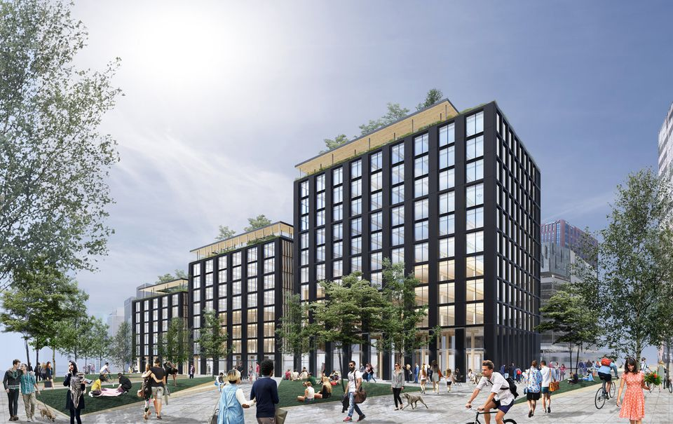 Wood Buildings to Replace Wood Bats in Newark