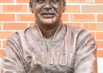 Bust of Dick Howser